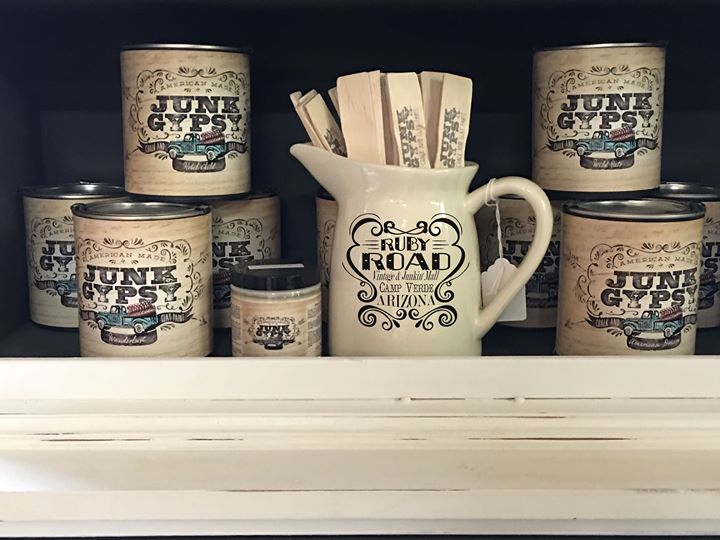 We are pleased to carry Junk Gypsy™ Paint. An American-made chalk and clay paint...